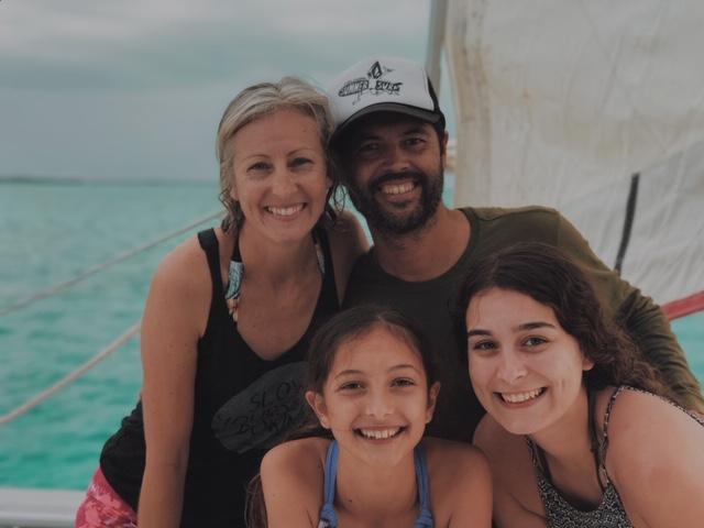 Family Travel Belize snorkel